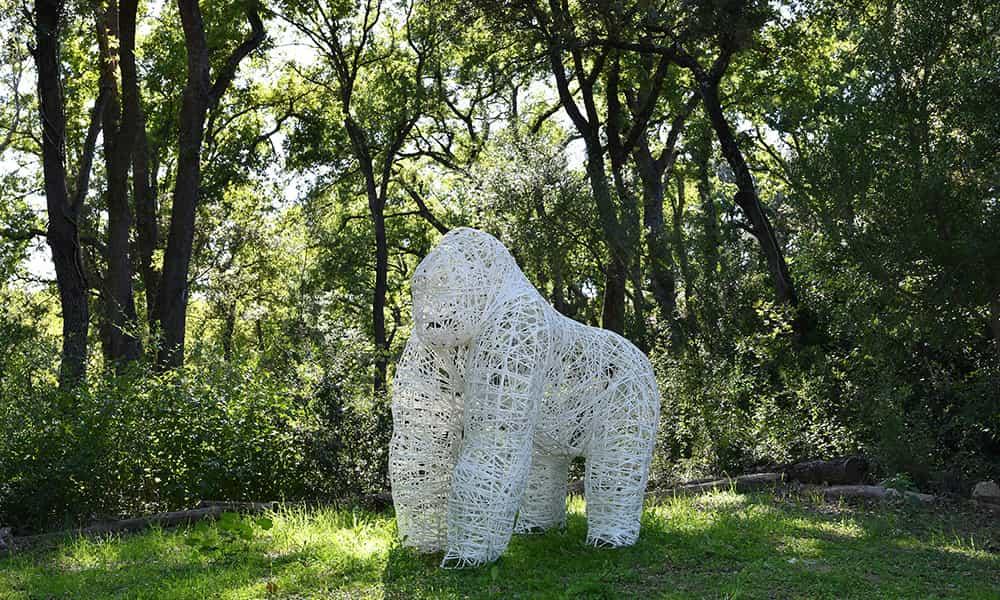 Décoration 3D fibre minérale animaux