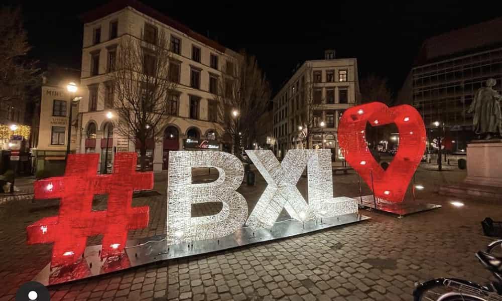 Décoration lumineuse lettres 3D villes et communes