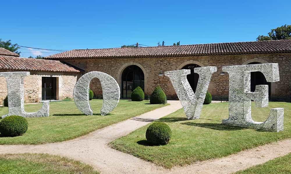 Lettres Love mariage décoration