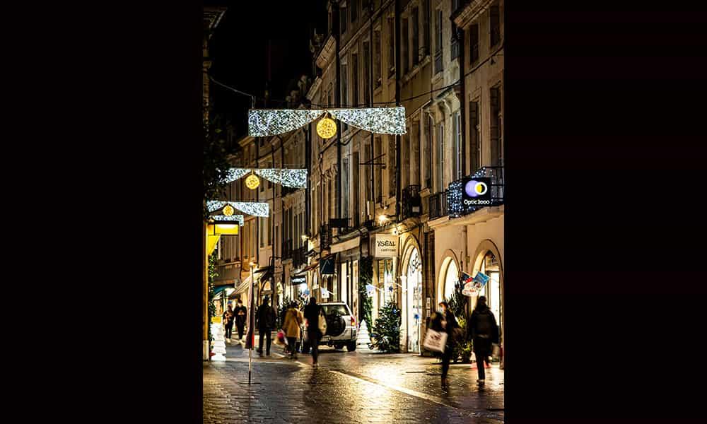 Traverses de rues Noël illuminations