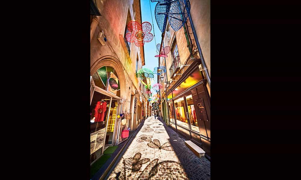 Décoration estivales rues villes et communes