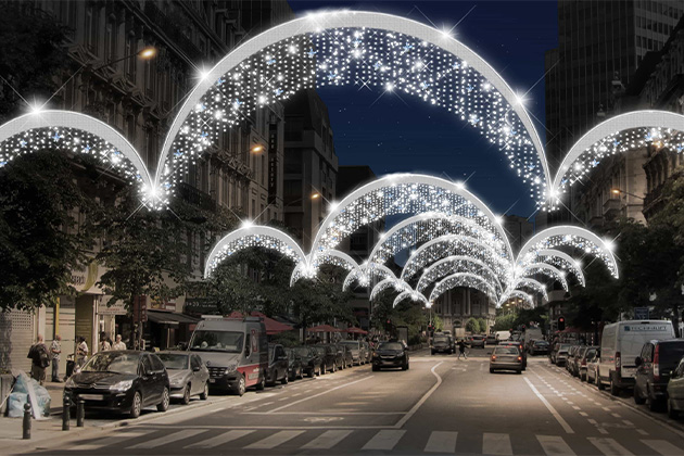Photo simulée illumination