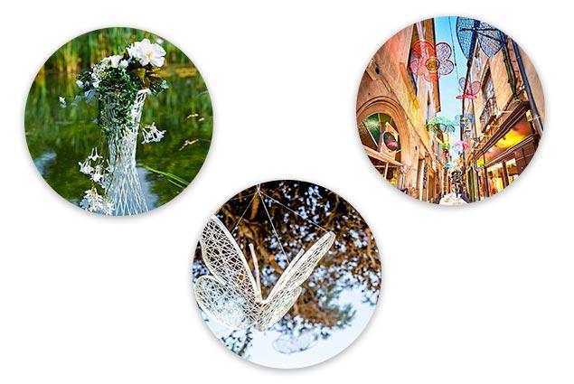 décorations fibre minérale